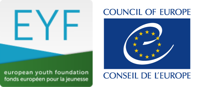 logo European Youth Foundation and logo Council of Europe